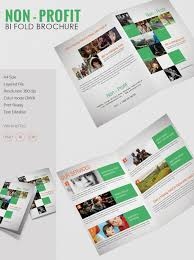 fold brochure template beautiful non profit a4 bi fold brochure template free premium