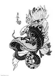 the 25 best japanese snake tattoo ideas on pinterest cobra