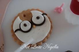 owl cookies not quite nigella