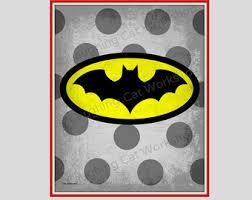 Toddler Superhero Bedroom Kid Superhero Print Batman Art Poof Comic Pop Art Print Comic