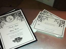 deco wedding invitations nouveau deco wedding invitations weddingbee