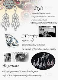 top earing 925 sterling silver jewelry top cubic zirconia totems design