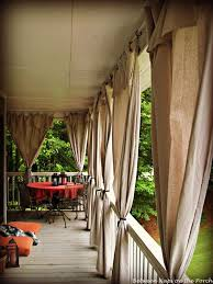 Curtains On Patio Outdoor Curtains For Screened Porch Ideas With Best 10 Porch