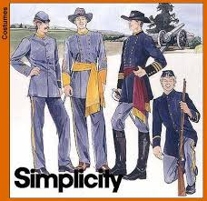 Civil War Halloween Costume Simplicity 7274 Men U0027s Civil War Costumes U0026l Pattern Wishlist