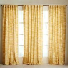 Cotton Canvas Curtains Canvas Curtains Mid Century Cotton Canvas Etched Grid Curtains Set