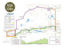 Frontier Route Map by History Pedal The Plains