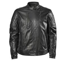 perforated leather motorcycle jacket roland sands design men s clash perforated leather jacket