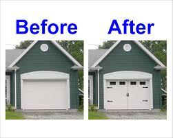faux garage door window stickers wageuzi