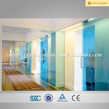 china frosted tinted or clear 10mm shower room tempered glass