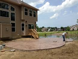 Best Sealer For Stamped Concrete Patio by Stamped Concrete Chagrin Falls Ohio Difranco Contractors