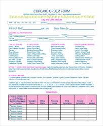 cake order 9 cake order forms free sles exles format