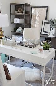Stylish Office Desks Desk Decorations Ideas Feminine Office Supplies Stylish
