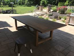 Ipe Bench Buy A Custom Ipe Farmhouse Picnic Table Made To Order From