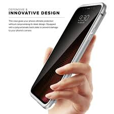 zizo atom case for iphone x tempered glass screen protector and airf