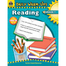 Reading Comprehension 7th Grade Worksheets Daily Warm Ups Reading Grade 7 Tcr3658 Teacher Created Resources