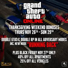 cars black friday gta online black friday offers 40 cut for apartments 25 percent
