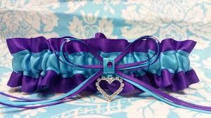 purple and turquoise wedding puple and turquoise wedding garter single or set purple and