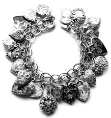 sterling bracelet with heart charm images 141 best charms charm bracelets images jewelry jpg