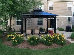 Patio Gazebo Lowes Lowes Gazebos Patio Furniture Home Design Ideas And Pictures