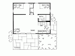 Simple One Bedroom House Plans Eplans Cottage House Plan Delightfully Simple 480 Square Feet