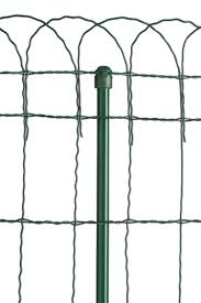 decorative wire border fence in 4 heights gardeners