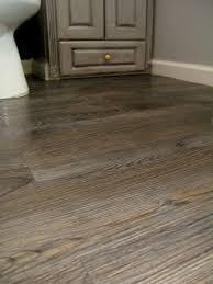 easy bathroom flooring options