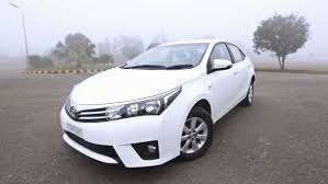 toyota white car 2014 toyota corolla altis video review pakwheels blog