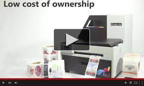 l801 industrial color label printer powered by memjet afinia label