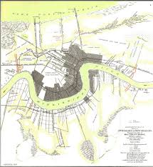 Map New Orleans French Quarter by New Orleans In The American Civil War Wikipedia