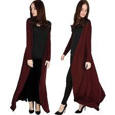 womens la s long sleeve open flowy maxi long cape cardigan