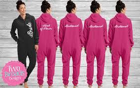 bridesmaid pajama sets bridesmaid footie pajamas bridesmaid pajama set
