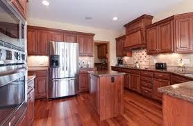 Cherry Laminate Flooring Breathtaking Laminate Floor In Kitchen Flooring Ideas Floor