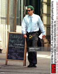 Jfk Jr Gets A Ticket Runs A Red Has A Beer New York Keith
