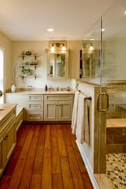country master bathroom ideas country master bathroom with flush limestone counters hardwood