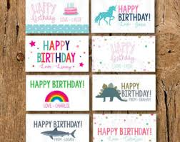 gift cards for kids child enclosure card etsy