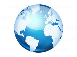 World Map Icon by World Map Archives Fox Graphics
