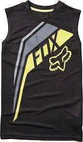 fox motocross t shirts fox racing youth fowler tank top boys sleeveless motocross