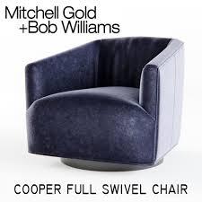 Nico Swivel Chair Mitchell Gold Cooper Full Swivel Chair 3d Model Max Obj