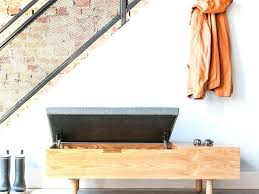 modern entryway bench with storage images with fabulous modern
