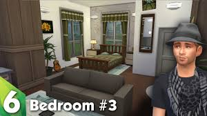 Bedroom With Living Room Design The Sims 4 Room Design Beautiful Bedroom Youtube