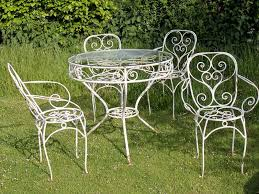 Iron Patio Furniture Sets White Iron Patio Furniture Interior Design
