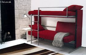 Pull Out Bunk Bed Space Saving Sleepers Sofas Convert To Bunk Beds In Seconds