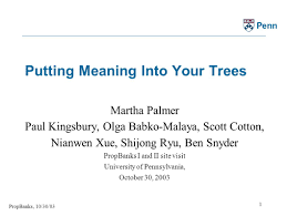 propbanks 10 30 03 1 penn putting meaning into your trees martha