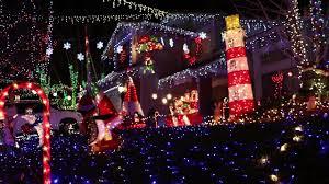 christmas light show ct 2016 wakefield ct christmas light display youtube