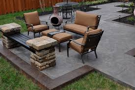 Outdoor Concrete Patio Outdoor Concrete Patio Designs 1000 Images About Patio Designs On