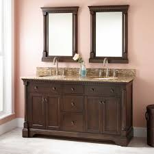 Antique Vanity With Mirror 60