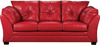 Red Sofa Sectional The Best The Brick Leather Sofa