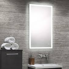 Bathroom Demister Mirrors Illuminated Bathroom Mirrors Led Illuminated Mirrors Uk Drench