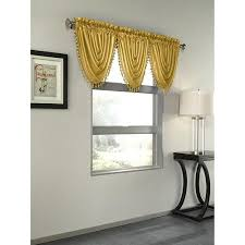 Yellow Faux Silk Curtains Cheap Faux Silk Valance Find Faux Silk Valance Deals On Line At