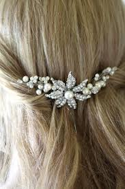 hair brooch bridal comb wedding hair comb flower comb hair